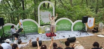 광복 74주년 기념 청계산 산상 기도회